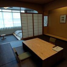和洋室です。
