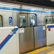 都営線と東急線