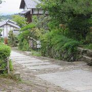 島崎藤村ゆかりの坂と石畳の宿場