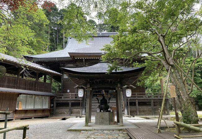 神峯山寺(かぶさんじ)