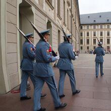 プラハ城の衛兵交代式