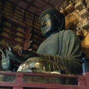 奈良と言えば大仏さま