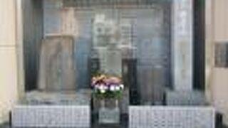 四世鶴屋南北の墓