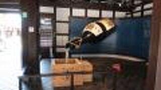 日本酒の作り方が展示されています。