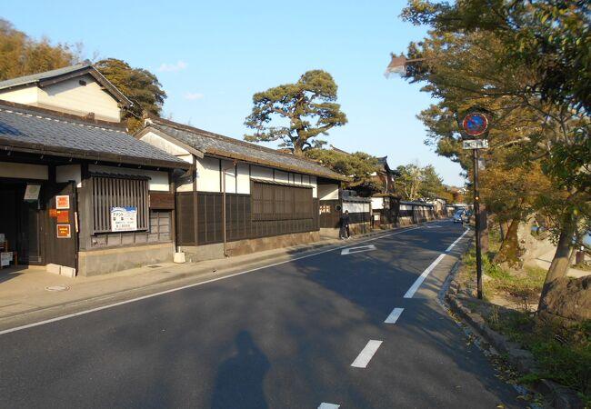松江の塩見縄手に残る武家屋敷