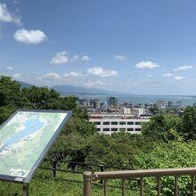 大津サービスエリア (上り線)
