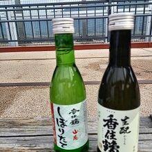 お酒『香住鶴』2本 買いました. 美味しかったです