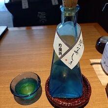 『皆美』さんオリジナルの日本酒を頂きました