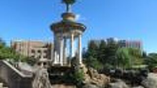 鶴舞公園噴水塔