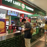 地下には香港で有名なJoy Luck Teahouseが入ってます