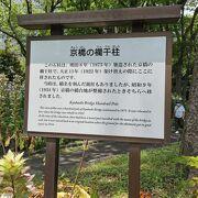 日比谷公園 京橋の欄干柱