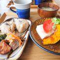 長島愛生園の敷地内のカフェ