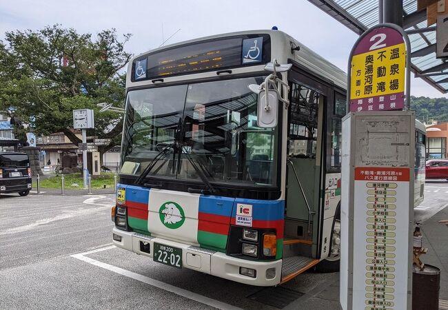 伊豆箱根バス (湯河原駅~奥湯河原)