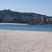 日本でも白い砂浜