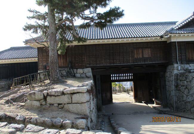 築城当時の建物