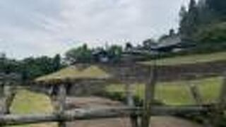 まほろば唐松中世の館唐松城能楽殿
