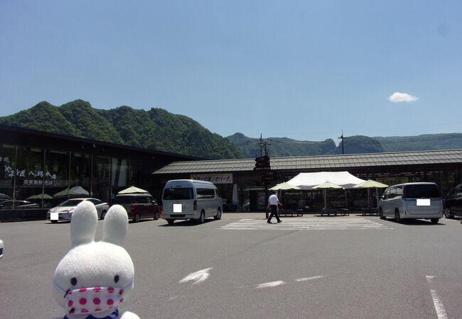 ユニークなグルメ「ダムカレー」があります。