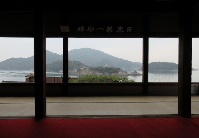 仙酔島の眺め