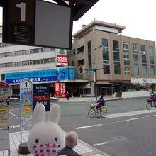 山形駅東口からは1番乗り場。