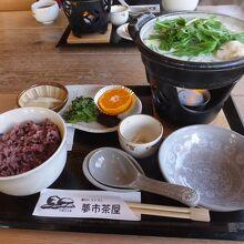 飛鳥鍋が名物料理。