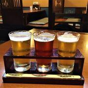 ビール飲み比べ 黄桜酒場