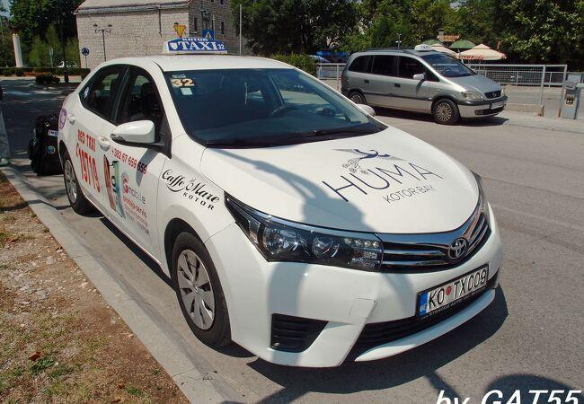 レッド タクシー