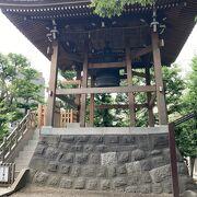 浅草寺から少し離れた所にあります