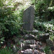 羽豆岬の小高い山の上にあった城址でした。