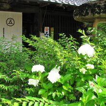 伊勢本街道 (奥津宿)