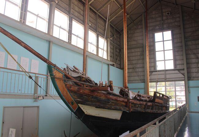 海運資料館は閉館し、こちらは無料でした