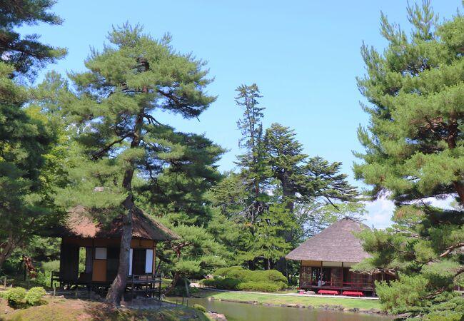 御薬園(会津松平氏庭園)