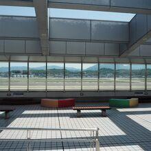 福岡空港 国際線 送迎デッキ