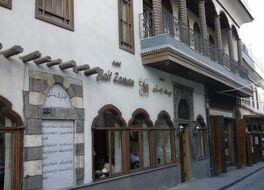 シリアのホテル