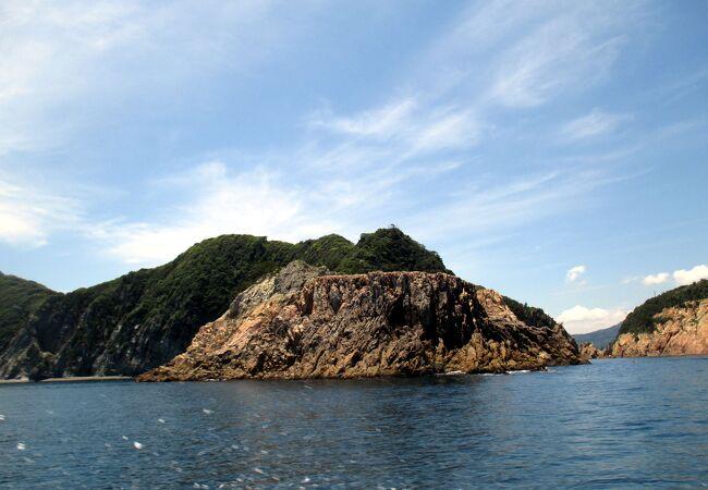 青海島観光汽船 青海島一周航路