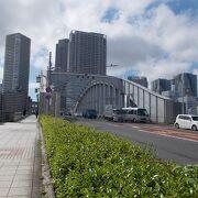 隅田川にかかる橋の一つです。