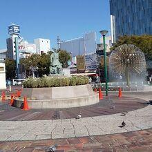 岡山駅東口前広場