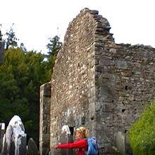 昔の教会石壁
