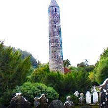 史跡に残されているラウンドタワー