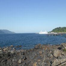 桜島港周辺