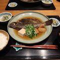 クオリティーの高い煮魚定食