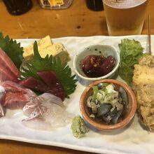 三崎鮪と旬の魚 わたつみ