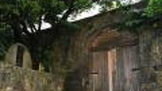 上天妃宮跡の石門