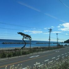 風光明媚な海の見える区間も(久ノ浜ー四ツ倉 間)