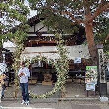 日枝神社(岐阜県高山市)