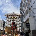 静かな祇園祭り とうろう山