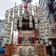 京都の夏はやはり山鉾