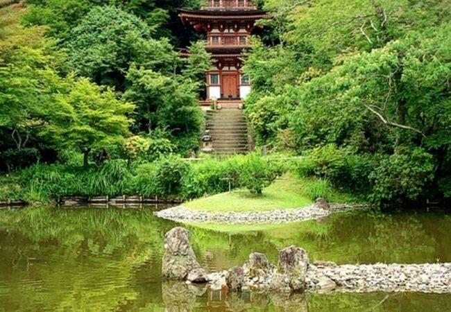 浄瑠璃寺(京都府木津川市)