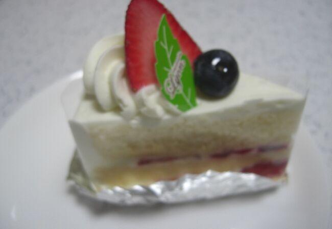 こじんまりとしたケーキ店