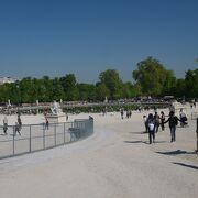 パリ市民の憩う