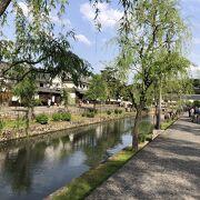 美観地区は、この江戸時代のような風情を残してくれています。